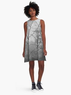 A personal favorite from my Etsy shop https://www.etsy.com/listing/469172303/forest-a-line-dress-womens-dress-grey