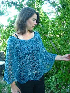 Easy+Summer+Knitting+Projects | Knitted Poncho, Shawl and Scarf Patterns - Angelika's Yarn Store