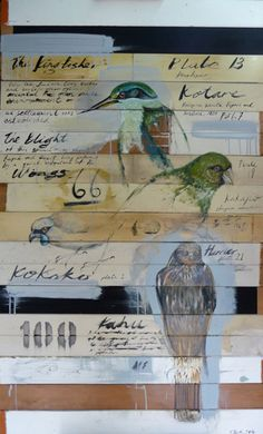 jason hicks paintings - Google Search Market Day Ideas, New Zealand Art, Nz Art, Maori Art, Art Portfolio, Artist Painting, Bird Art, Beautiful Birds, Landscape Paintings