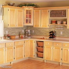There are so many ways to make the best of your existing kitchen cabinets, it's possible to get the look of a whole new set of cabinetry without tearing out a single unit. For the most dramatic effect, try a fresh coat of paint. Use a paint formulated for kitchen cabinets – water-based paints like acrylic alkyds and acrylic urethanes are good choices for a pro look – and be ready to prep, prep prep–more on that here. If you're ready to take the plunge, check out our six other ways to give…