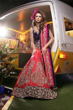 Ekta Solanki Designer Indian Bridal Collection Lehngas - Indian Wedding Site Home - Indian Wedding Site - Indian Wedding Vendors, Clothes, Invitations, and Pictures.