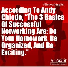 #NetworkingRx: How do you do your networking homework?
