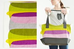 IKEA Pillow Case into Tote