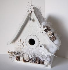 birdhouse pictures | Had so much fun making this little birdhouse!