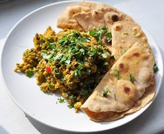 Scrambled Eggs South Asian Style
