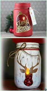DIY Christmas Mason Jar Decor tips