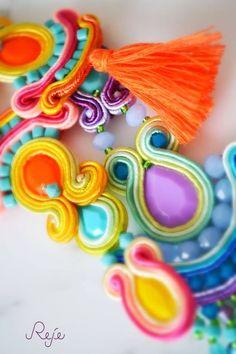 Colorful Collection s/s 2015 -Reje- Boho, Gipsy style Etsy shop: https://www.etsy.com/shop/Rejesoutache?ref=hdr_shop_menu  Facebook page: https://www.facebook.com/rejegioielliinsoutache  website: www.rejesoutache.com