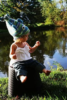 Stinky Fish Crochet Hat – Free Pattern
