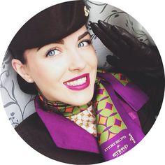 Etihad Stewardess Ну что ж, теперь моя очередь! #newetihaduniform #etihad #etihadcrew #etihadairways #Reimagined