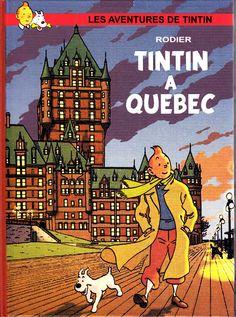 Tintin à Québec