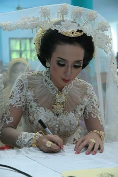 i love kebaya #wedding #akad