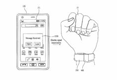 #LG patent melds #wearables and styluses in a bendable #smartwatch.
