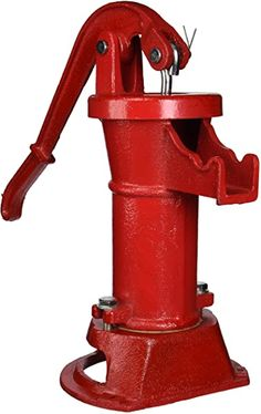Water Well Hand Pump, Diy Water Pump, Sump Pump, Designer Pumps, Thing 1, Water Systems, Just In Case, Cast Iron, Products