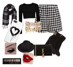 """""""My everyday look"""" by biddlestoneabbey on Polyvore featuring Emma Cook, Salvatore Ferragamo, Yves Saint Laurent, Humble Chic, Zero Gravity, River Island, Forever 21, women's clothing, women and female"""