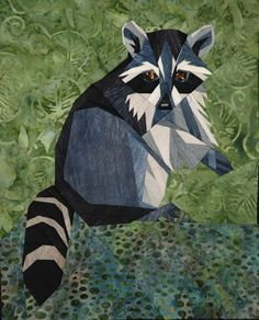 silver linings quilting pattern wee raccoon