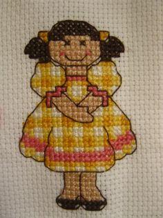 Yellow dressed girl