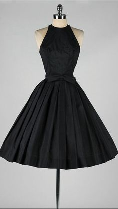 Stunning.  the ONLY black dress I would need in my life :)