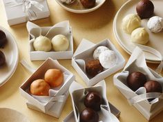 Recipe of the Day: Cookie Dough Truffles The best gifts are often homemade. Everyone on your list with a sweet tooth will adore these festively gift-wrapped eggless cookie dough truffles, inspired by classic cookie flavors like peanut butter, snickerdoodle and chocolate chip.