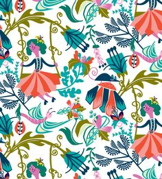 Fun Spring Pattern by Agnes Schugardt