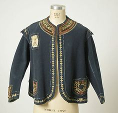 * French Jacket    wool    1869–70