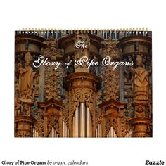 Glory of Pipe Organs calendar no. 10 - delighted to have sold the first for this year to Florida, Sept Oxford Town, Coventry Cathedral, Montpellier, Town Hall, Gifts For Family, Continents, Barcelona Cathedral, Netherlands, Around The Worlds