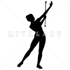 free clip art majorette twirling a baton majorette silhouette rh pinterest com  majorette clipart
