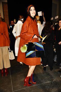 Fendi AW1516 Fashion Show Milan Backstage | Sonny Vandevelde
