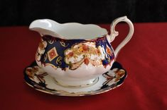 """Royal Albert """"Heirloom"""" Gravy Boat & Saucer in the English Porcelain category was listed for on 3 Jan at by mseh in Johannesburg"""