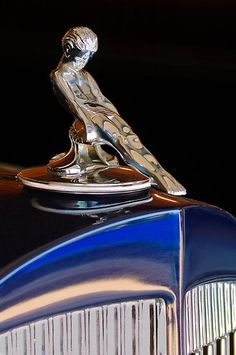 """1934 Packard """"Adonis"""" Hood Ornament 2 by Jill Reger..Re-pin...Brought to you by #HouseofInsurance for #CarInsurance #EugeneOregon"""