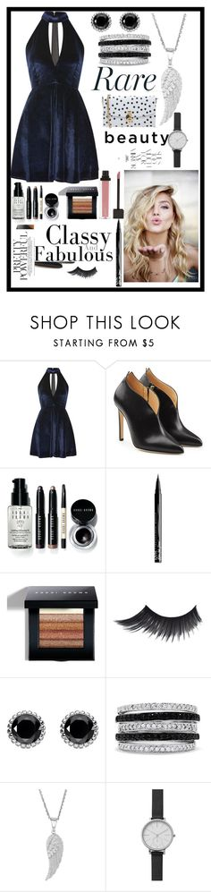 """Ynallection Rare Beauty"" by pearllynnerivera ❤ liked on Polyvore featuring Oh My Love, Chloe Gosselin, Bobbi Brown Cosmetics, NYX, Thomas Sabo, Effy Jewelry, Skagen, Dolce&Gabbana and Rika"