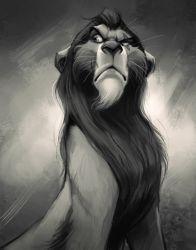 Scar by TehChan - Disney magic - [post_tags Scar Y Mufasa, Scar Lion King, Simba And Nala, Disney Fan Art, Disney Love, Disney Magic, Hakuna Matata, Disney And Dreamworks, Disney Pixar