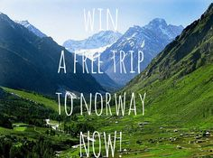 Your prayers have finally been answered - Jarlsberg is giving away a free trip to Norway RIGHT NOW. Go, visit the land of the fjords and Vikings. Ski Vacation, Norway Travel, Travel Scandinavia, Group Travel, I Want To Travel, Free Travel, Ultimate Travel, Winter Travel, Wonderful Places