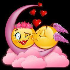 Beautiful Good Night Quotes, Good Night Love Images, Good Night Gif, Good Night Image, Emoji Images, Emoji Pictures, Love Pictures, Love Smiley, Emoji Love