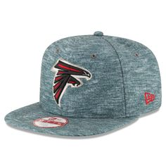 * Men's Atlanta Falcons New Era Heathered Gray Static Clinger Original Fit 9FIFTY Adjustable Hat, $29.99
