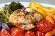 Taste The Rainbow Savory Style With This Easy Chicken And Veggies Dish