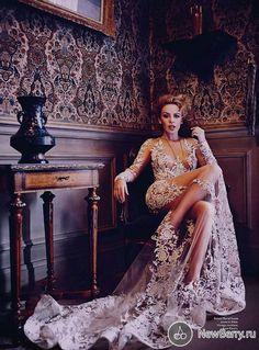 Kylie Minogue и Naomi Campbell для Vogue Australia