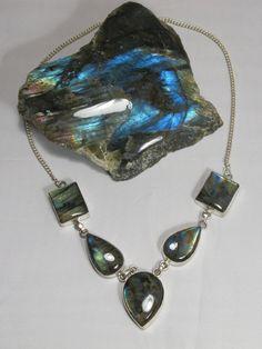 Labradorite Necklace 1