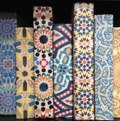 Vintage paper; paper-wrapped books