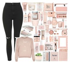 """""""I will wait for you honestly i don't want anyone else"""" by teatime-in-england ❤ liked on Polyvore featuring Topshop, River Island, Sisley Paris, Maison Margiela, Hostess, Clinique, philosophy, Davines, Kate Spade and Laura Mercier"""
