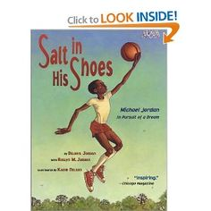 Great kids' book about Michael Jordan, written by his mother and sister