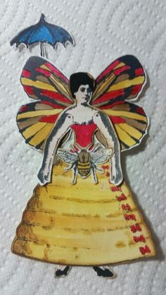 Love this little paper doll. .I made with Character  Constructions stamps