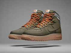 Nike Air Force One Winterized 2013
