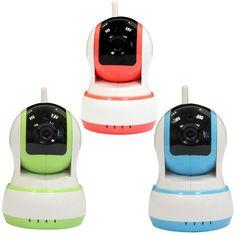 720P mobile phone remote monitoring camera wireless network camera-Color Green