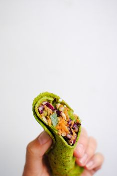wraps verdes low kcal | low kcal green wraps