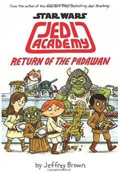 In the highly anticipated sequel to the New York Times bestseller Star Wars Jedi Academy, Roan Novachez must now face alien poetry tests, scary robots, online bullies, even more light saber duels and a girl who is mad at him. Watch the action unfold in Star Wars: Jedi Academy, Return of the Padawan!