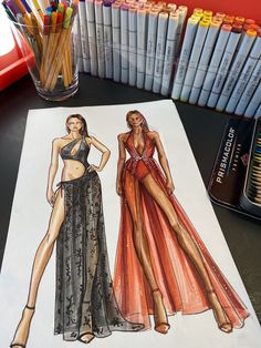 Fashion Model Sketch, Fashion Sketches, Fashion Models, Fashion Outfits, Fashion Illustration Poses, Fashion Illustration Tutorial, Dress Design Sketches, Fashion Design Drawings, Mode Collage