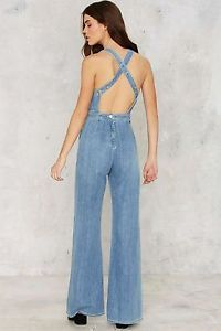 Nasty Gal Citizens of Humanity Katie Denim Overalls $348 NGQ