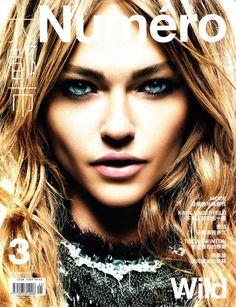 Numéro China #3 November 2010 Cover | Sasha Pivovarova by Greg Kadel | Fashion Gone Rogue: The Latest in Editorials and Campaigns