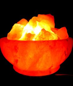 Salt lamps & Selenite Lamps at Moonstone Holistic Himalayan Salt lamps are simply large pieces of pure Himalayan Salt with a small bulb inside. Selenite Lamp, Natural Air Purifier, Natural Salt, Himalayan Salt Lamp, Sun Dried, Health And Wellbeing, Lamps, Bow, Lightbulbs