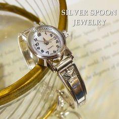 SILVER SPOON JEWELRYアンティークシルバースプーンウォッチ http://item.rakuten.co.jp/bon-eto/a9-silver-angelica/